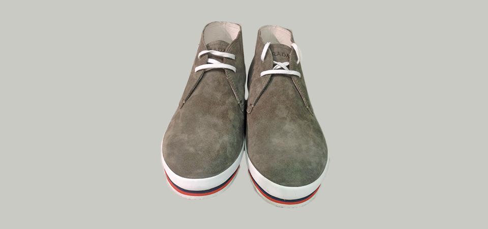 Proposta moda uomo  calzature uomo Prada - Evolution Boutique d3eeb5ca48e