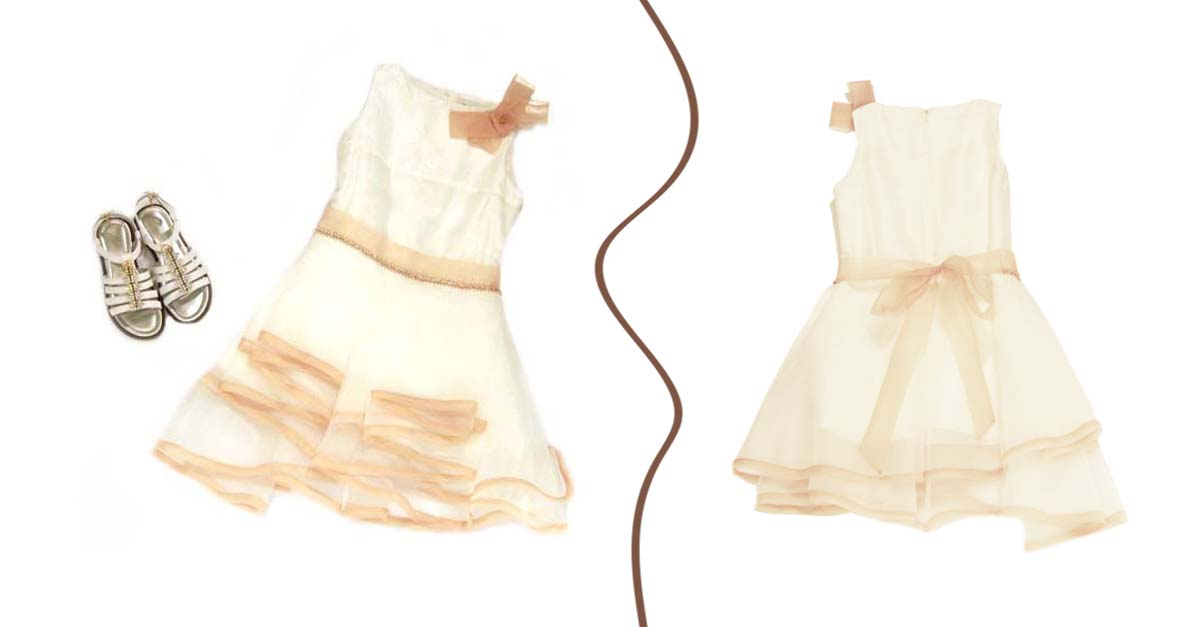 Abito cerimonia bambina - Evolution Outlet Abbigliamento Junior Polignano a Mare