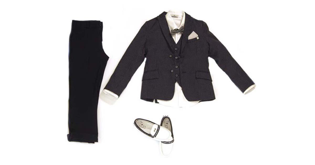 Abito cerimonia bambino - Evolution Outlet Abbigliamento Junior Polignano a Mare - Carlo Pignatelli cerimonia junior