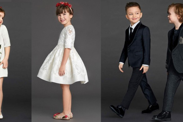 ABITI DA CERIMONIA PER BAMBINI: 3 LOOK PER LE GRANDI OCCASIONI - EVOLUTION OUTLET JUNIOR