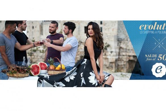 Rym Saidi - Evolution campagna saldi SS2016 Polignano a Mare (2)