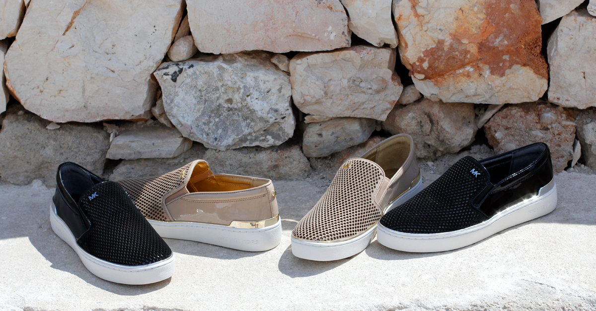 Slip on Michael Kors - Collezione Autunno Inverno 2016-17 - Evolution Luxury Polignano a Mare