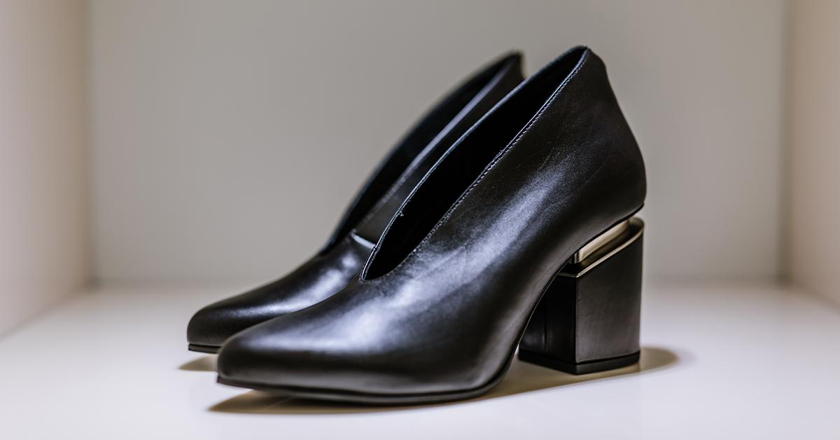 Vic Matié_calzature con scollo a V - Evolution boutique