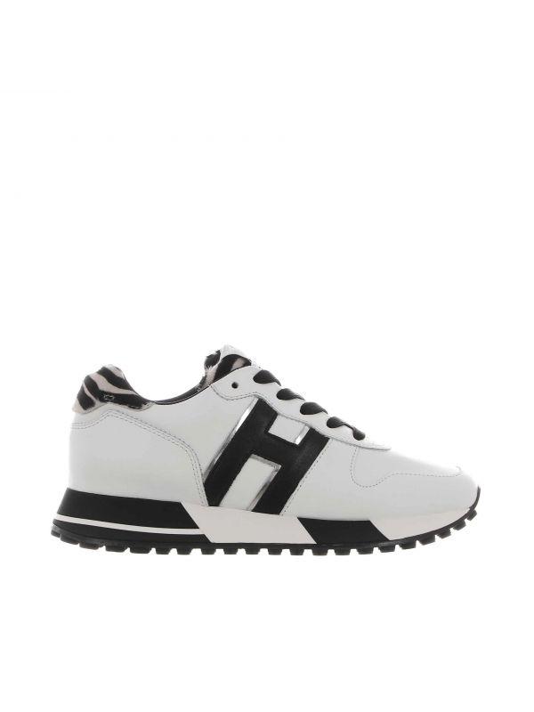 Sneaker h383 in pelle
