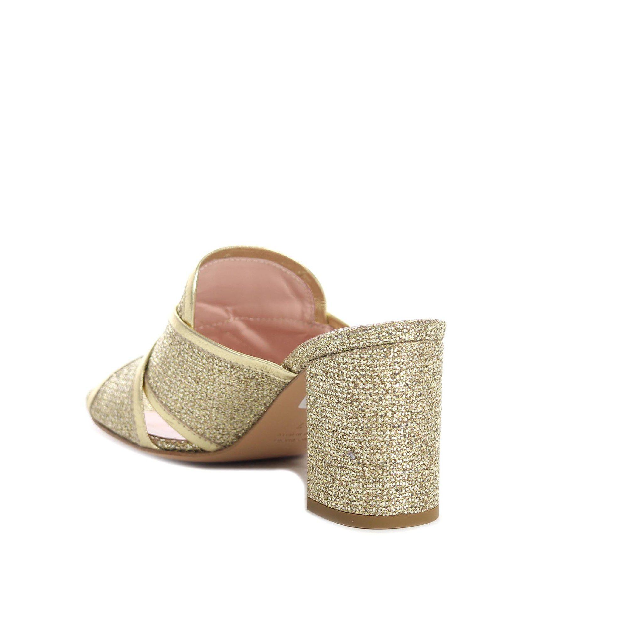 Anna f. mules in maglia glitter da donna