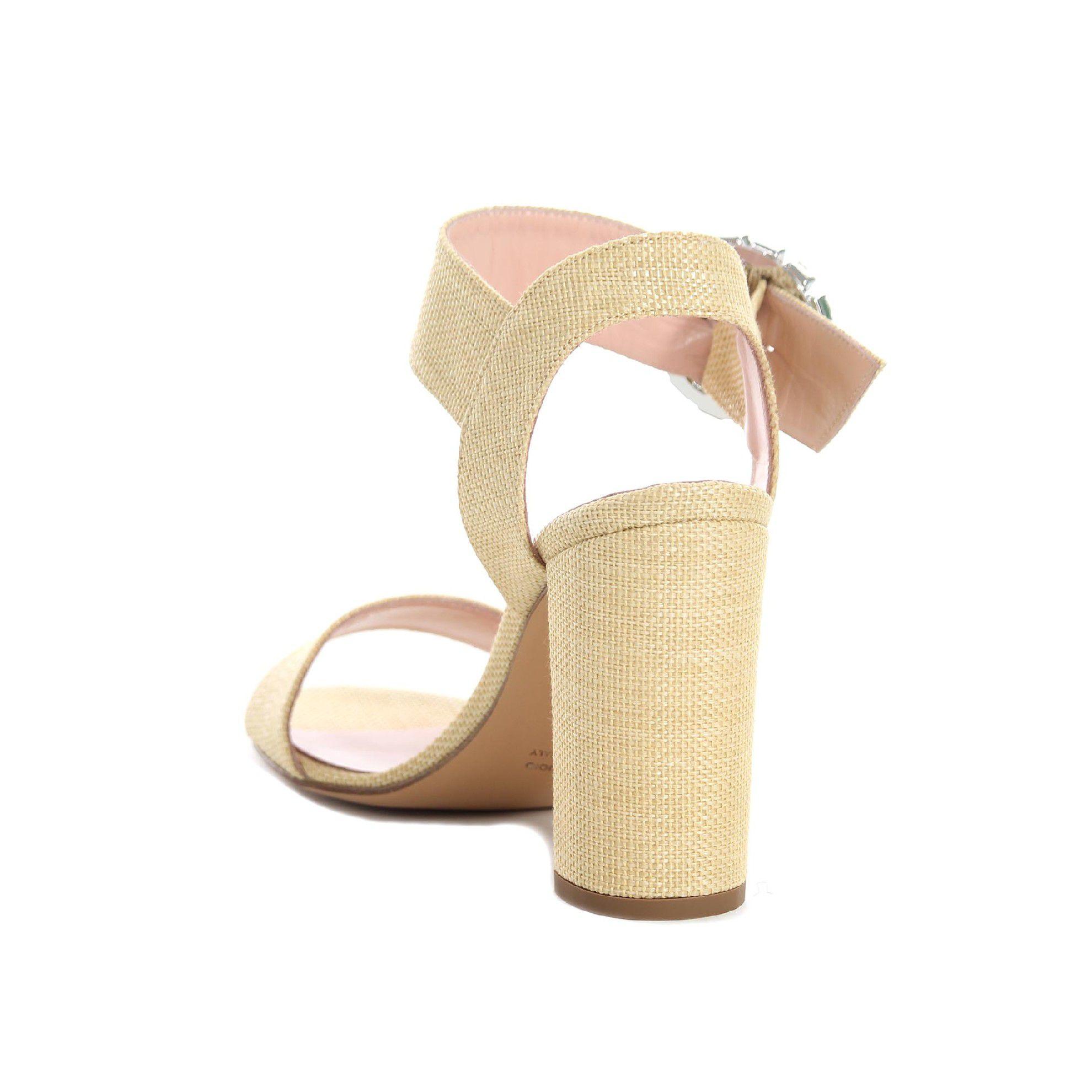 Anna f. sandalo con fibbia gioiello da donna