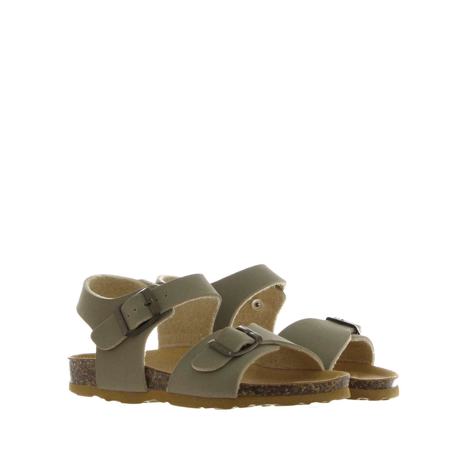 Bionatura sandalo in nabuk da bambino
