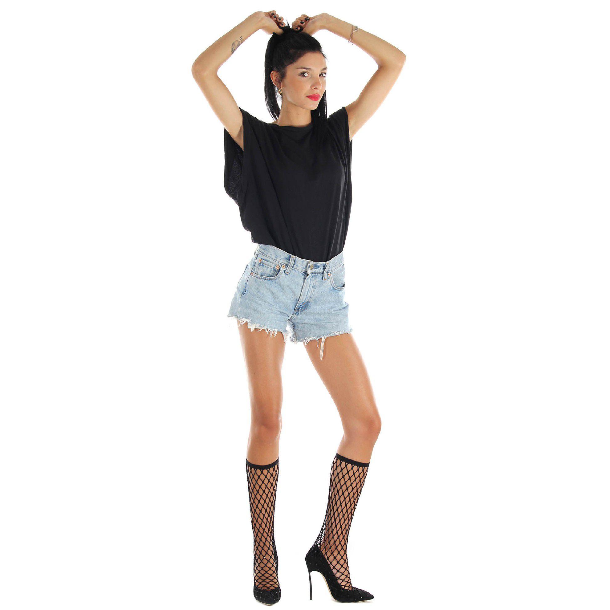 Casadei blade in camoscio modello socks stretch da donna