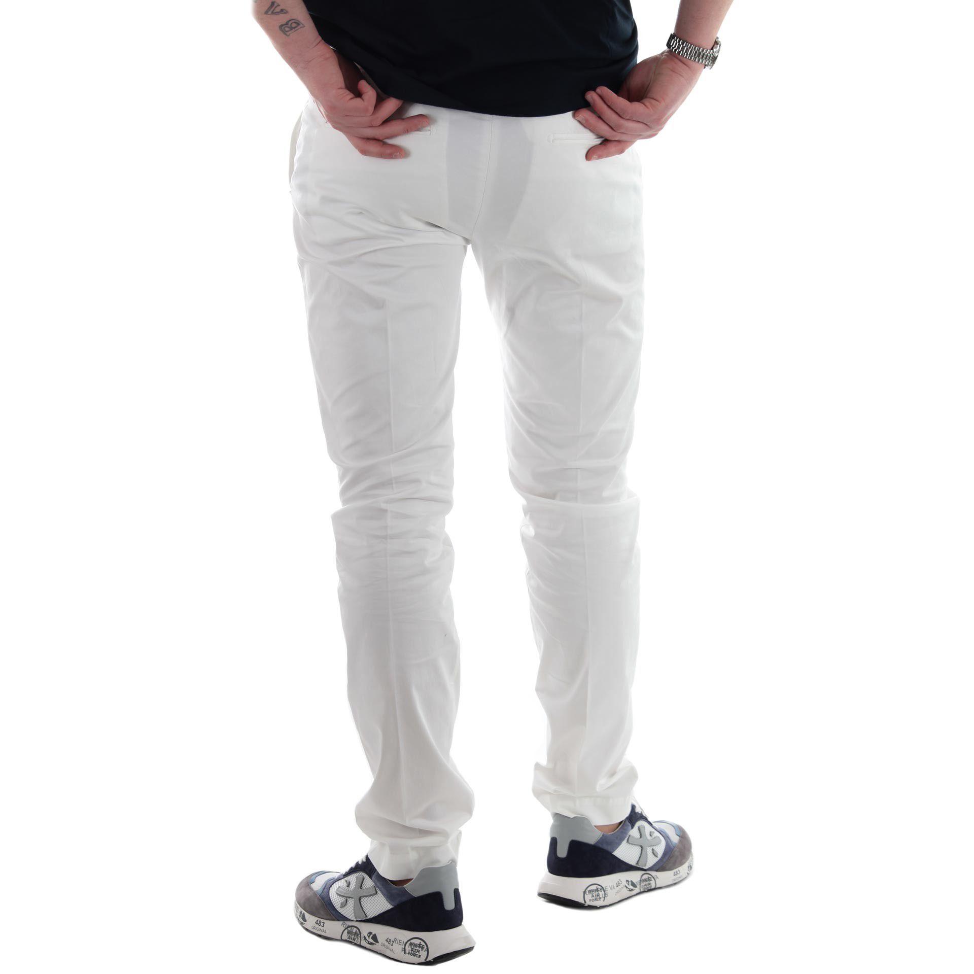 Entre amis pantalone lungo tasca america in cotone da uomo