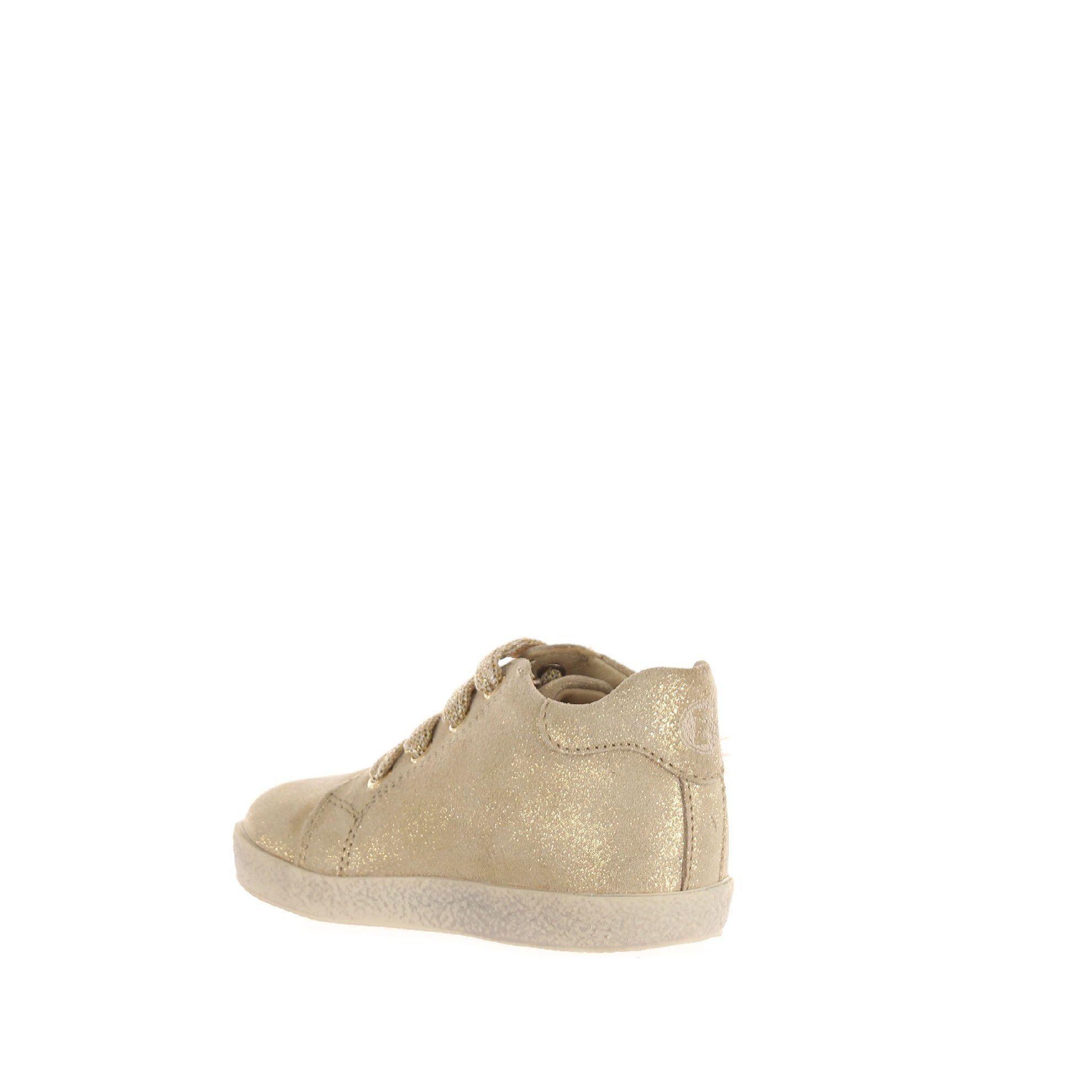 Falcotto sneaker in suede shiny da bambina