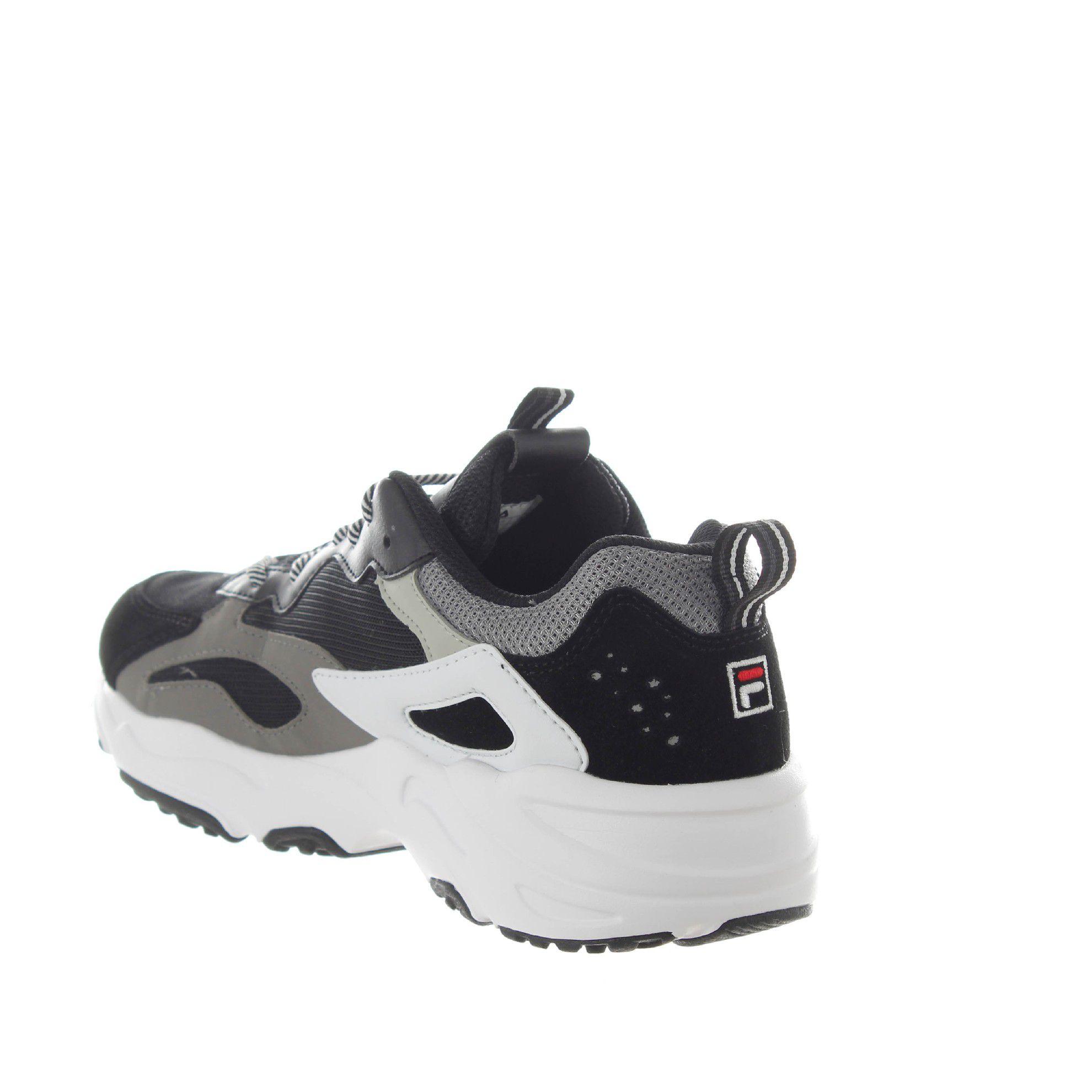 Fila sneaker ray tracer in suede e mesh da uomo
