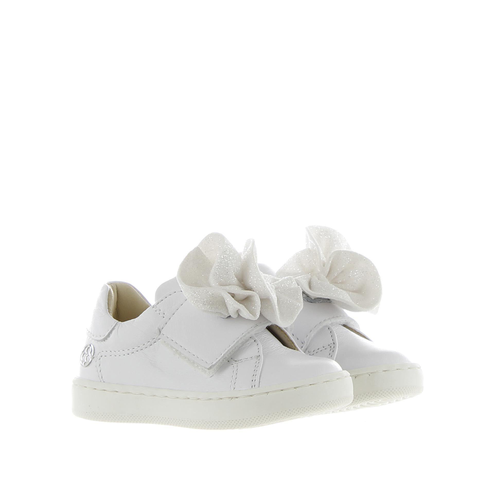 Florens sneaker con accessorio in glitter da bambina