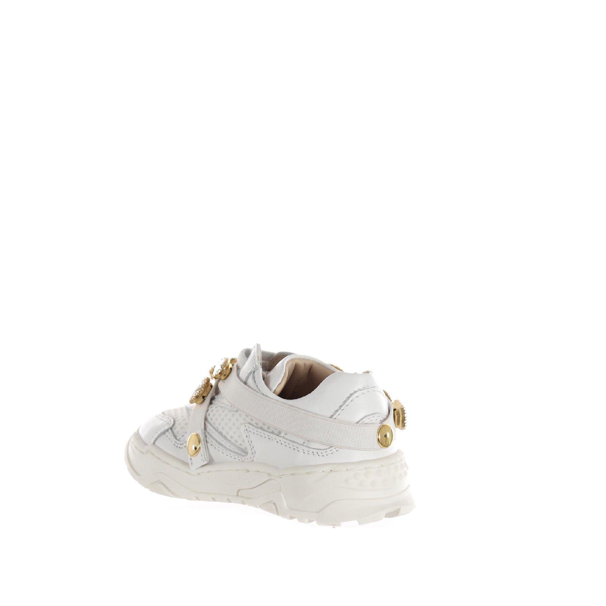 Florens sneaker in pelle e mesh da bambina