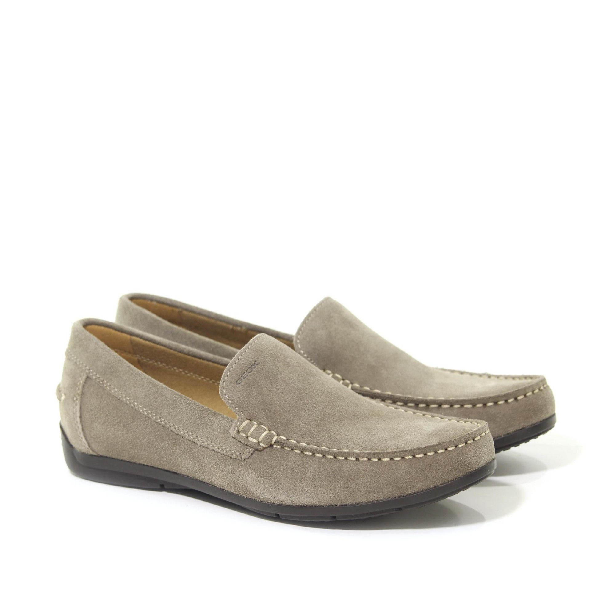 Mocassino siron a in suede