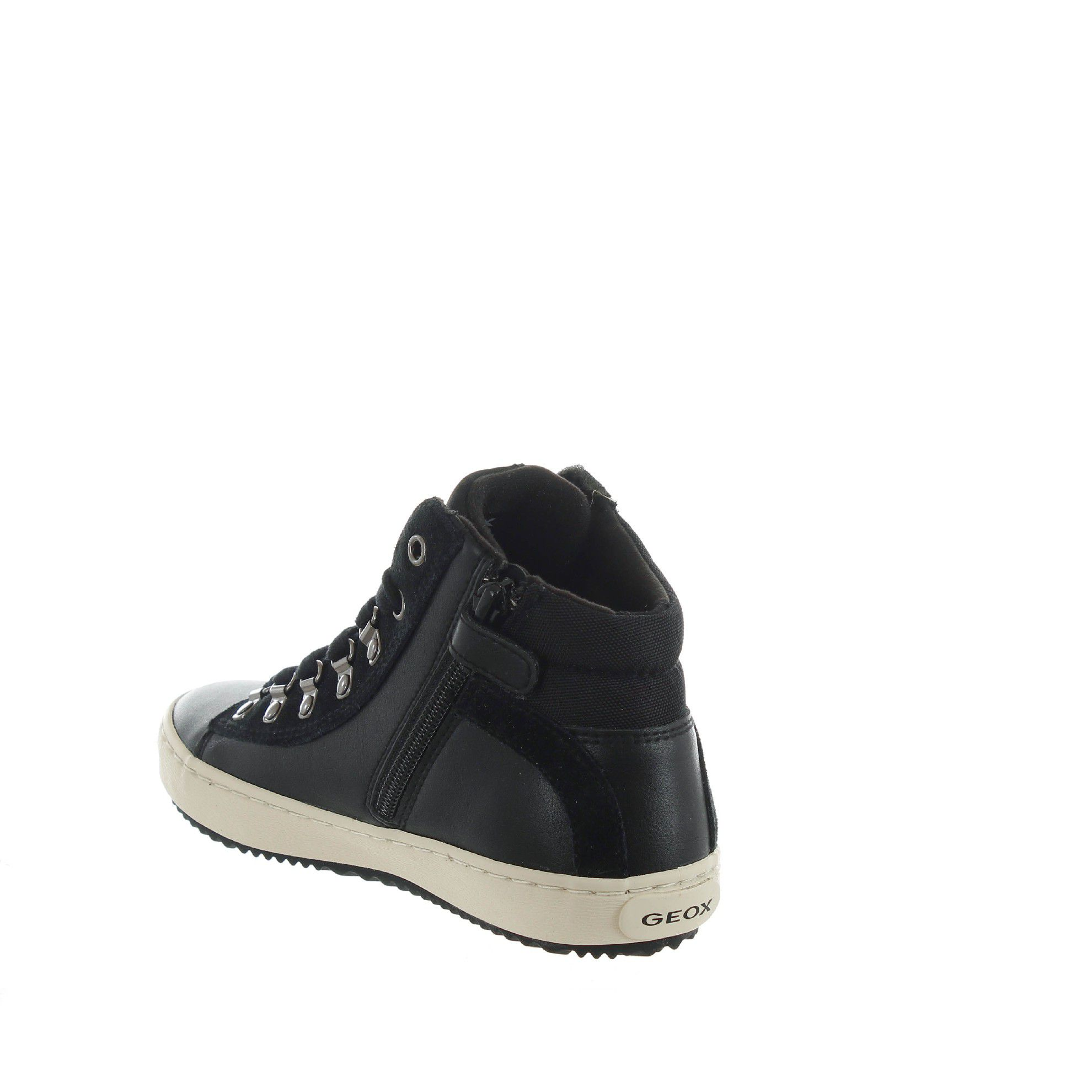 Geox sneaker kalispera in pelle trapuntata da bambina