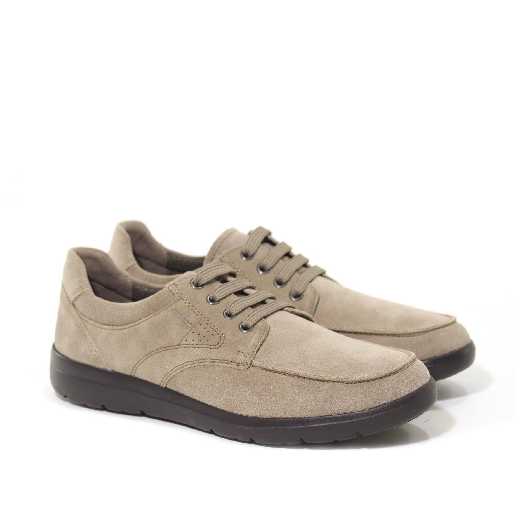 Geox sneaker leitan b in suede da uomo