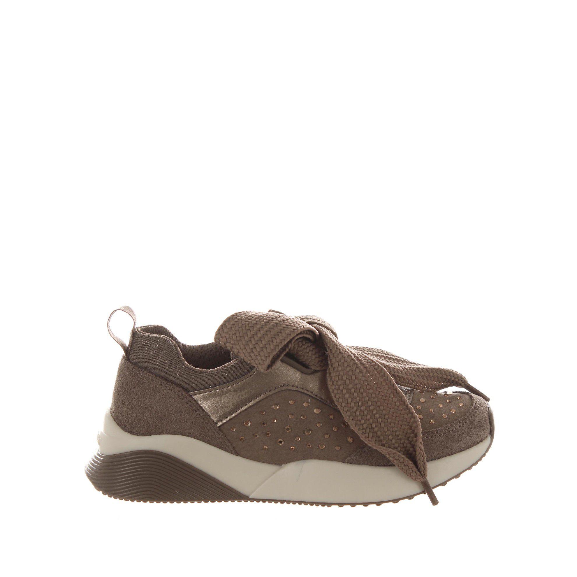 Geox sneaker sinead in suede da bambina