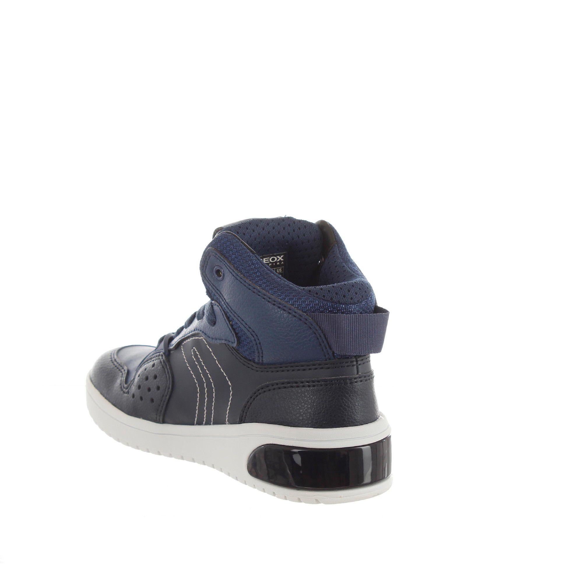 Geox sneaker xled in pelle da bambino