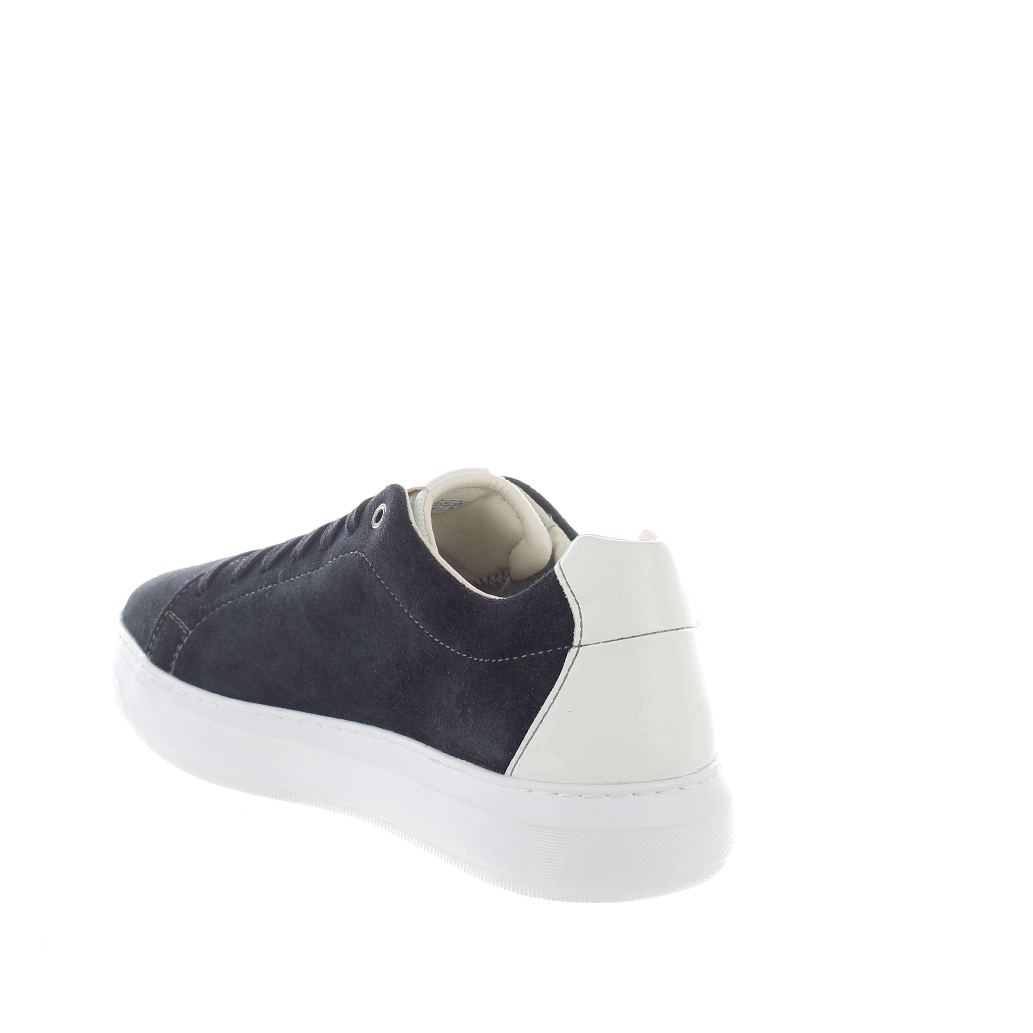 Geox sneakers deiven b in suede da uomo