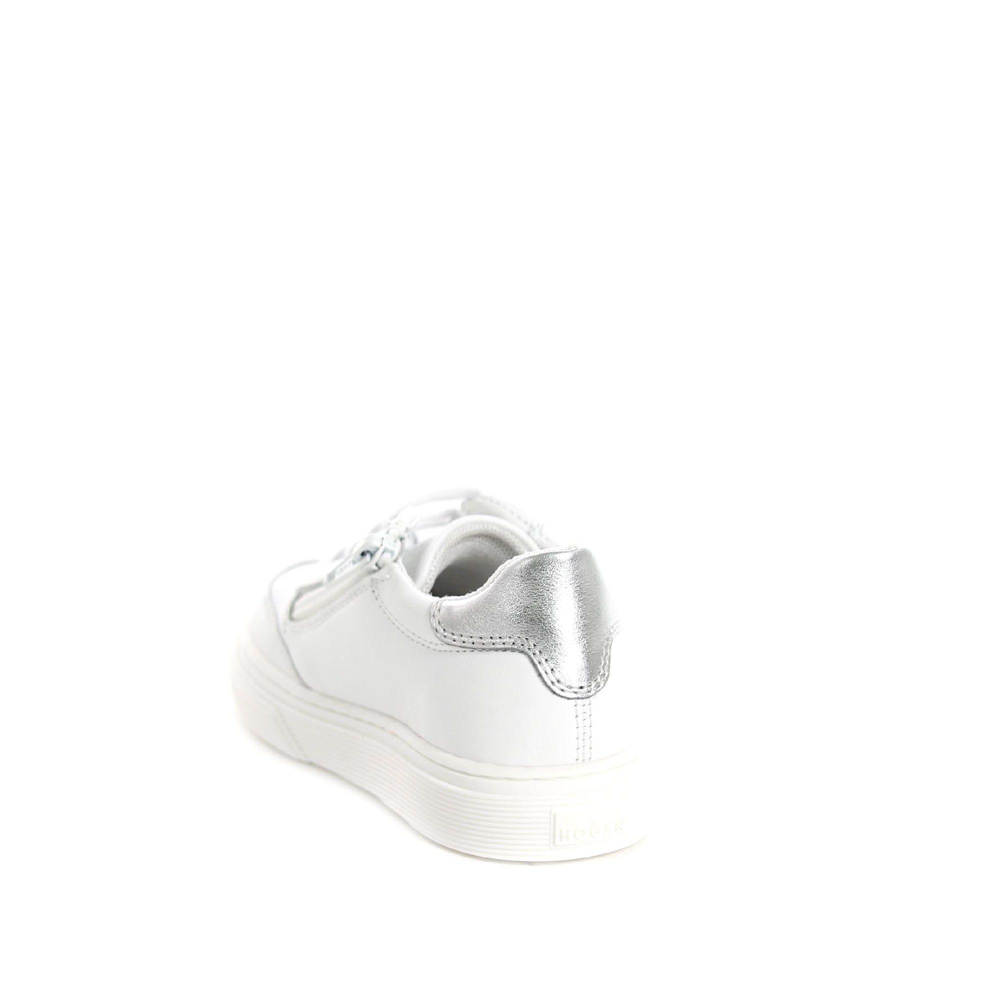 Hogan sneaker h340 in pelle da bambina