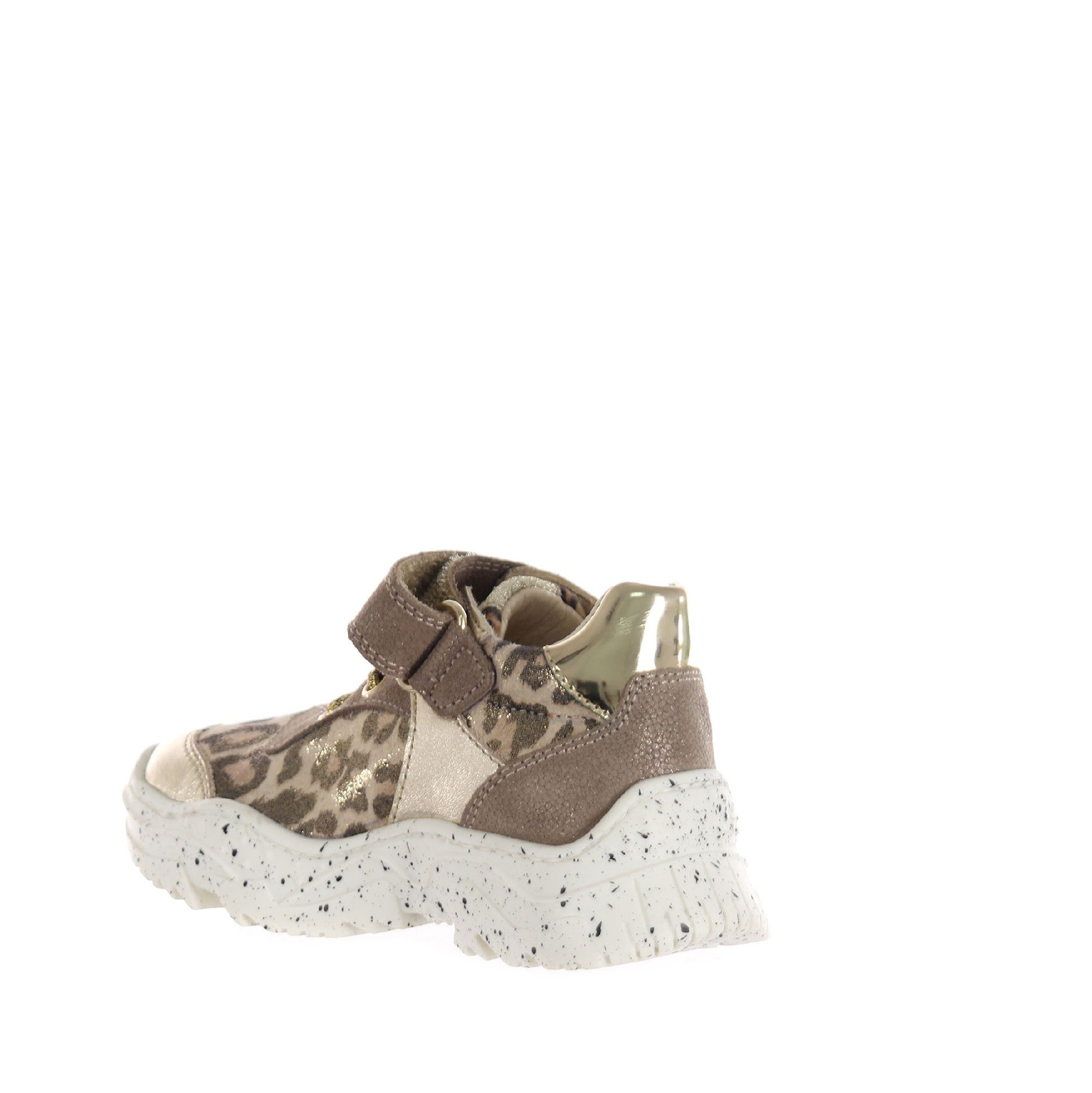 Naturino sneaker in pelle metal da bambina