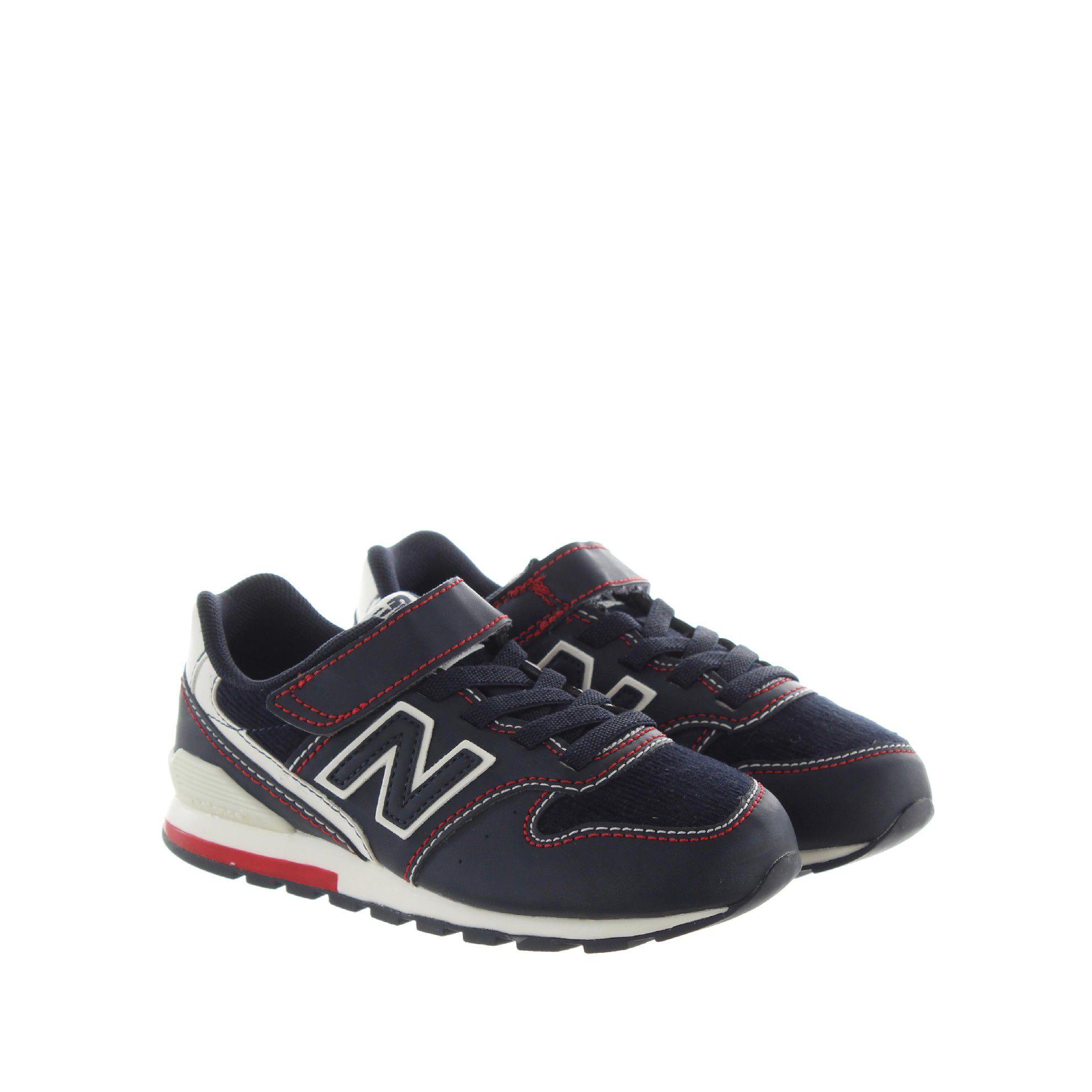 New balance sneaker 996 in pelle e velluto da bambino