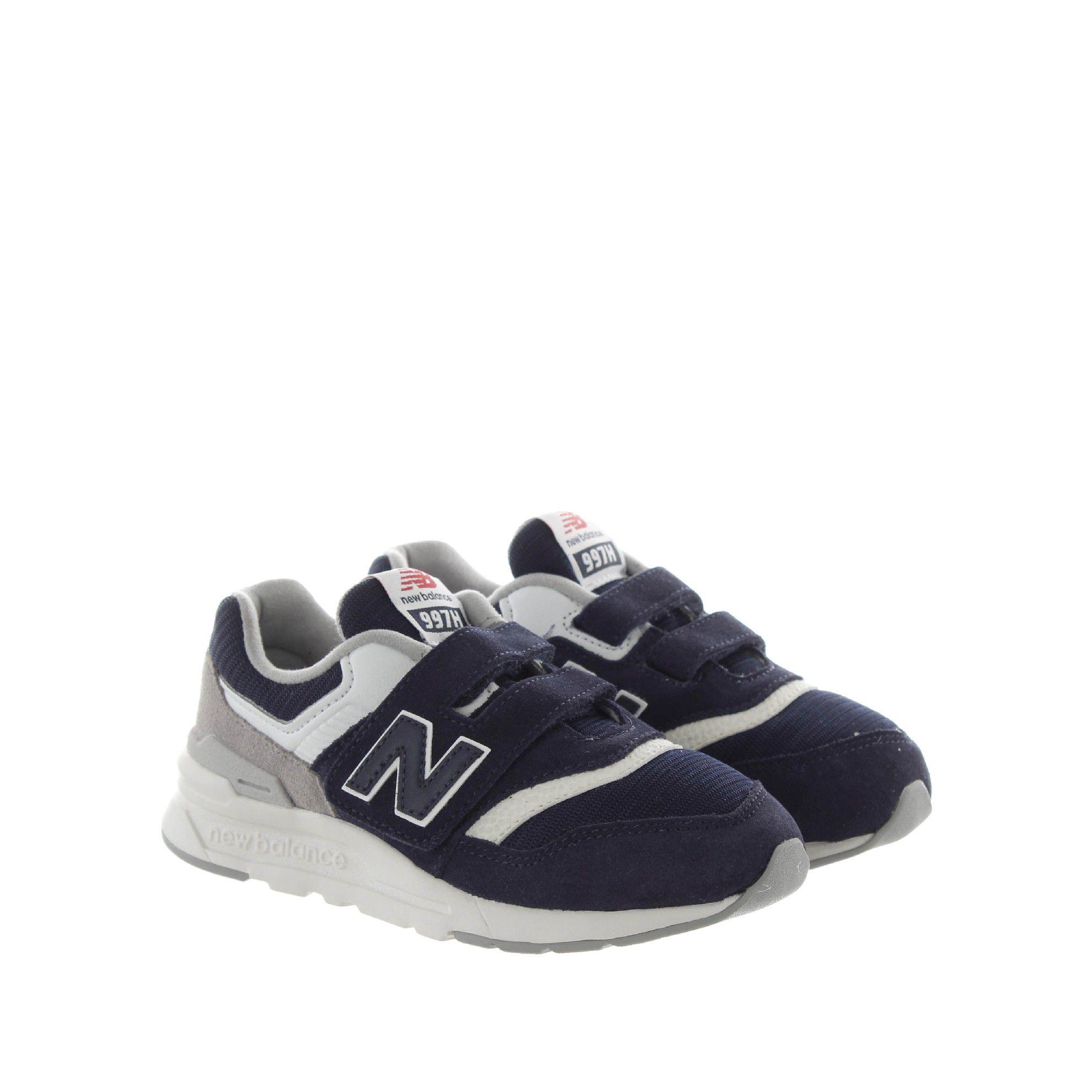 New balance sneaker 997 in suede e tessuto tecnico da bambino