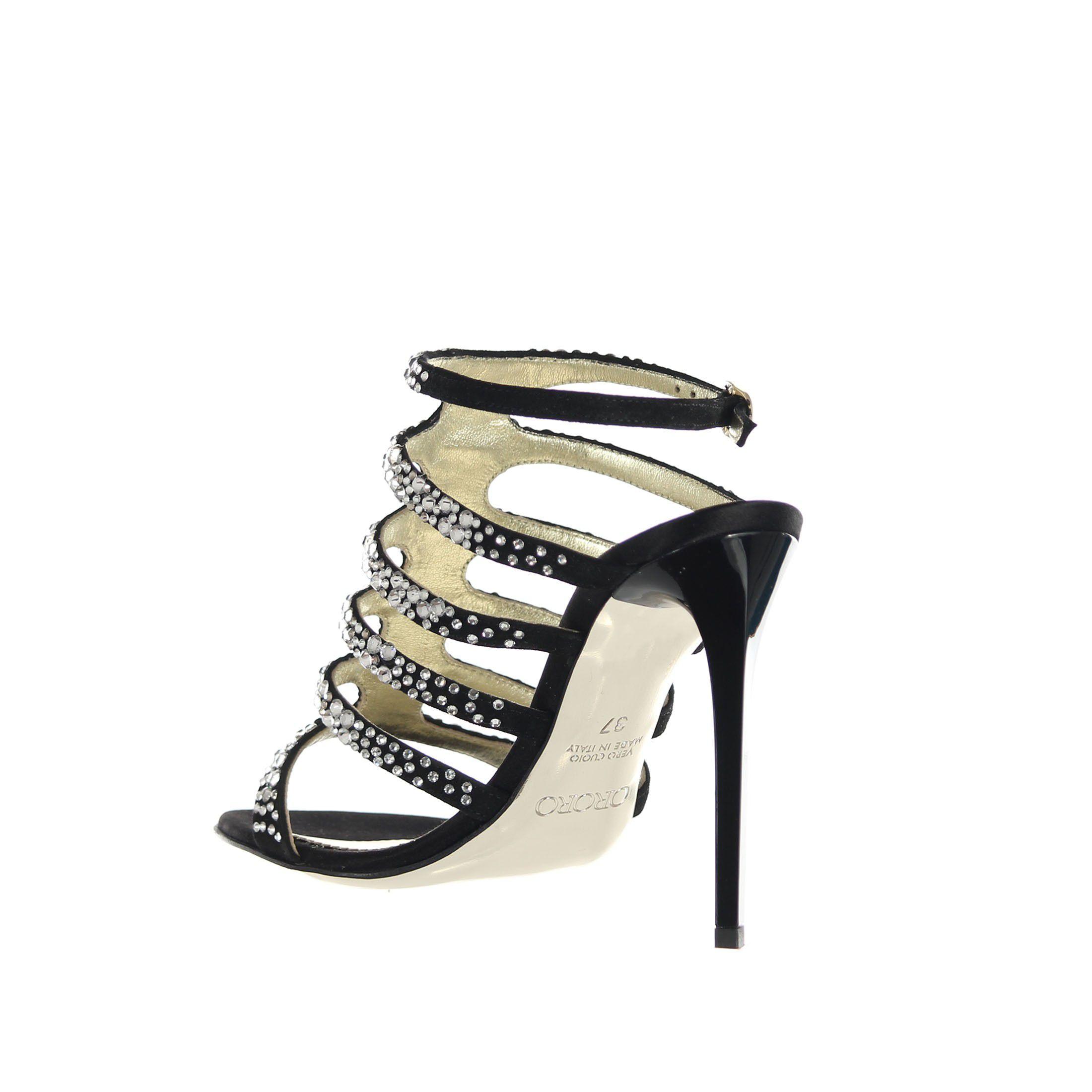 Ororo sandalo in suede  da donna