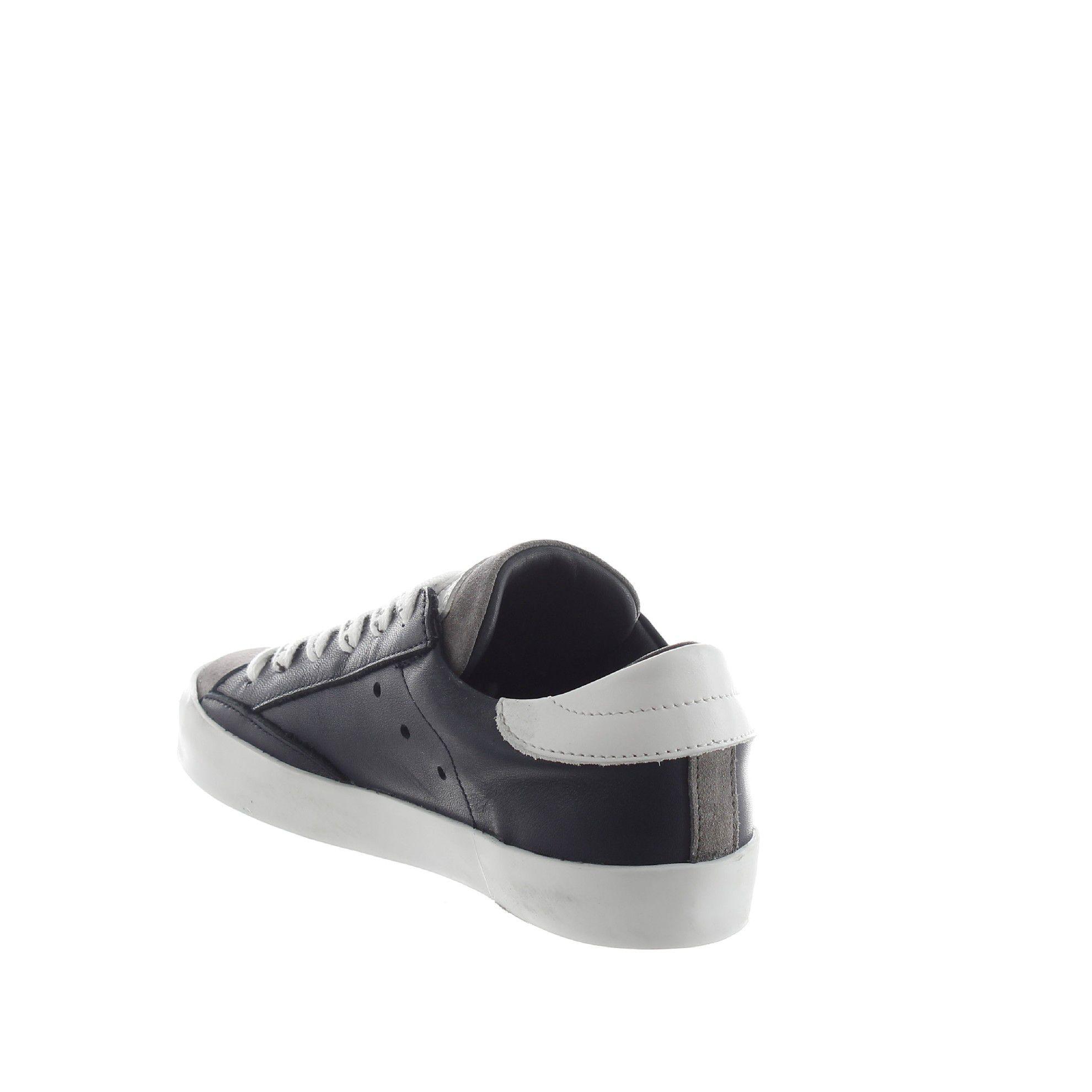 Philippe model sneaker paris l in pelle da bambino