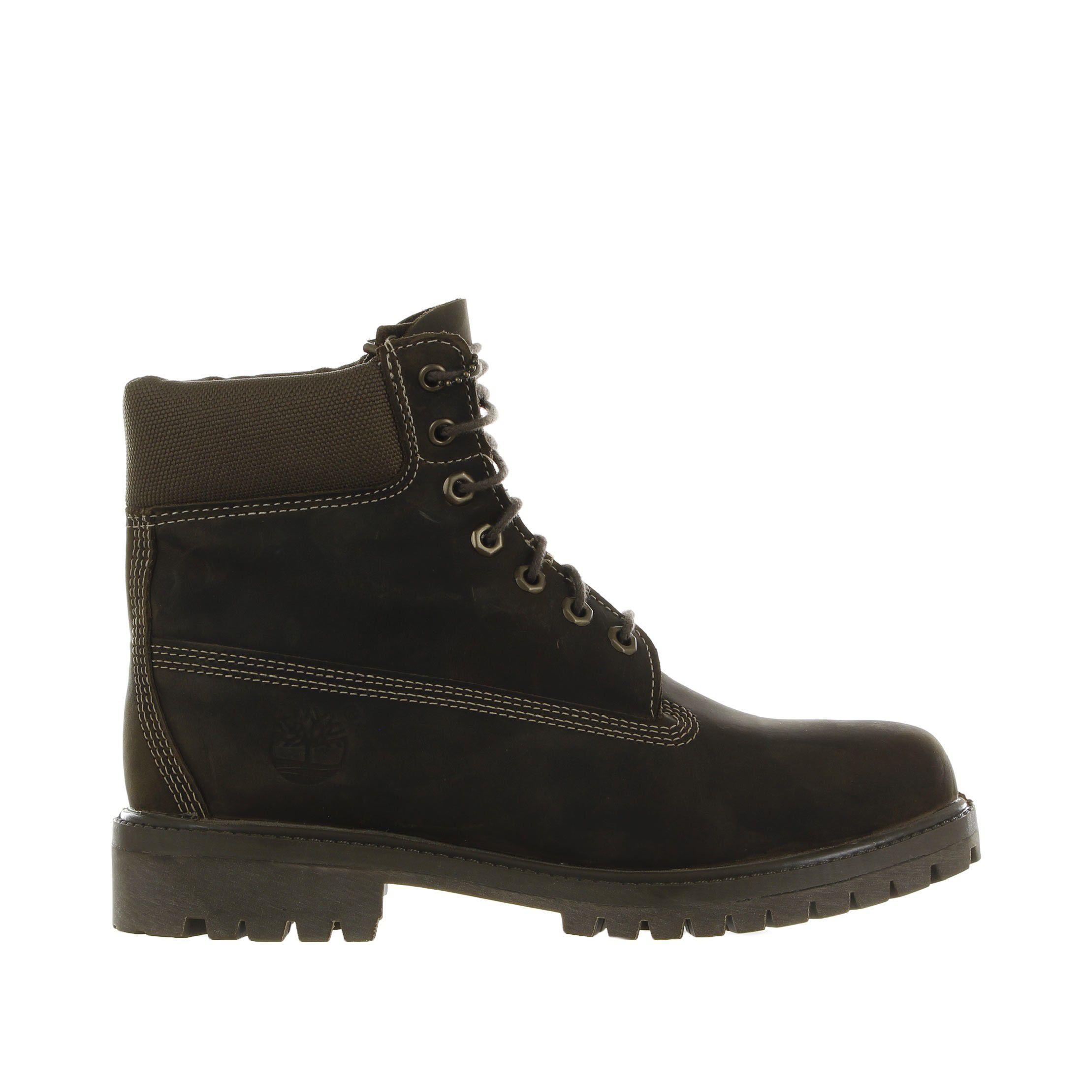 Timberland scarponcino 6'' premium boot in pelle pieno fiore da uomo