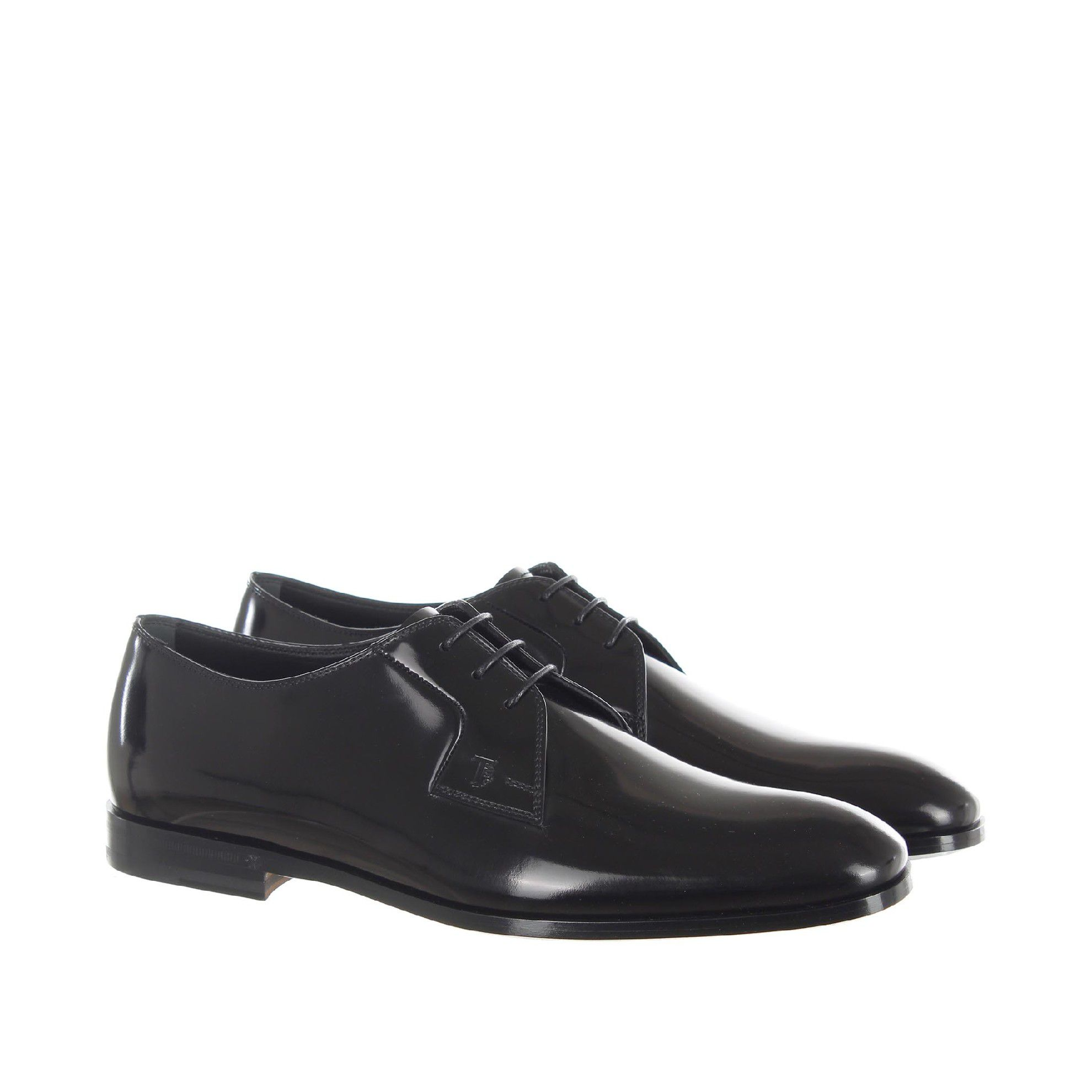 Tod's stringata derby in pelle da uomo