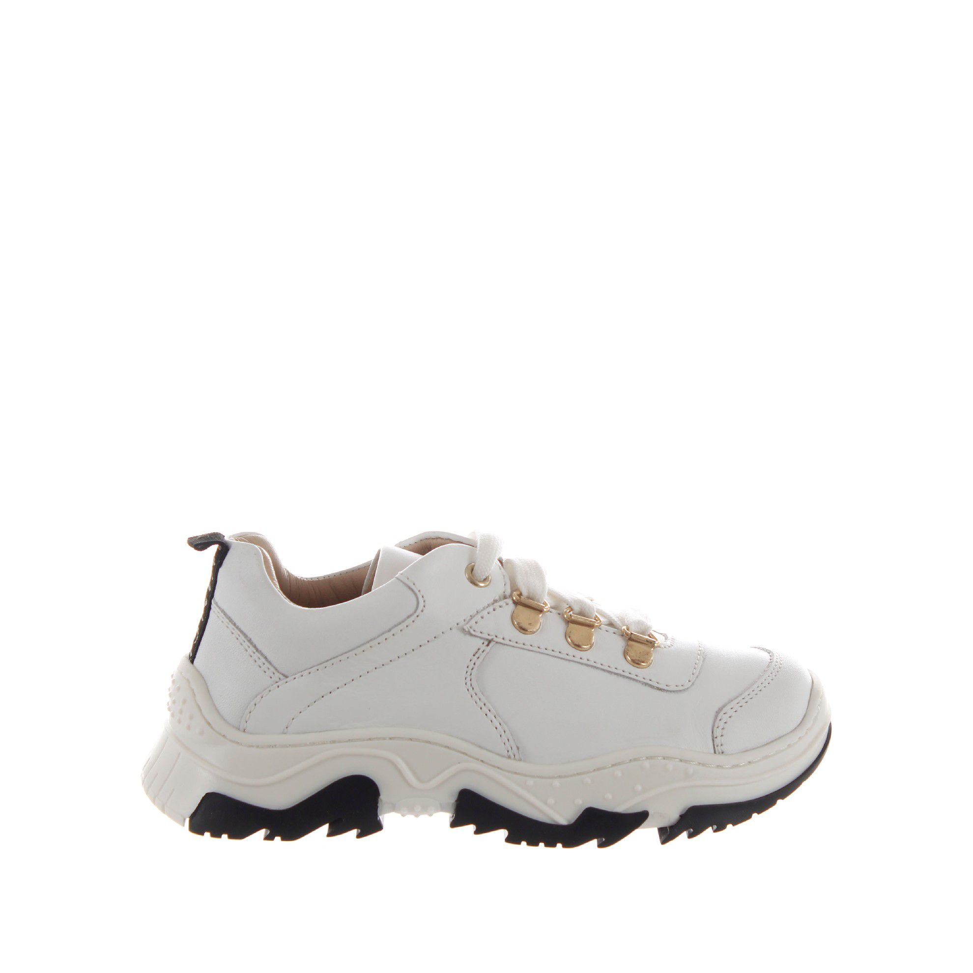 Twinset chunky sneaker in pelle da bambina