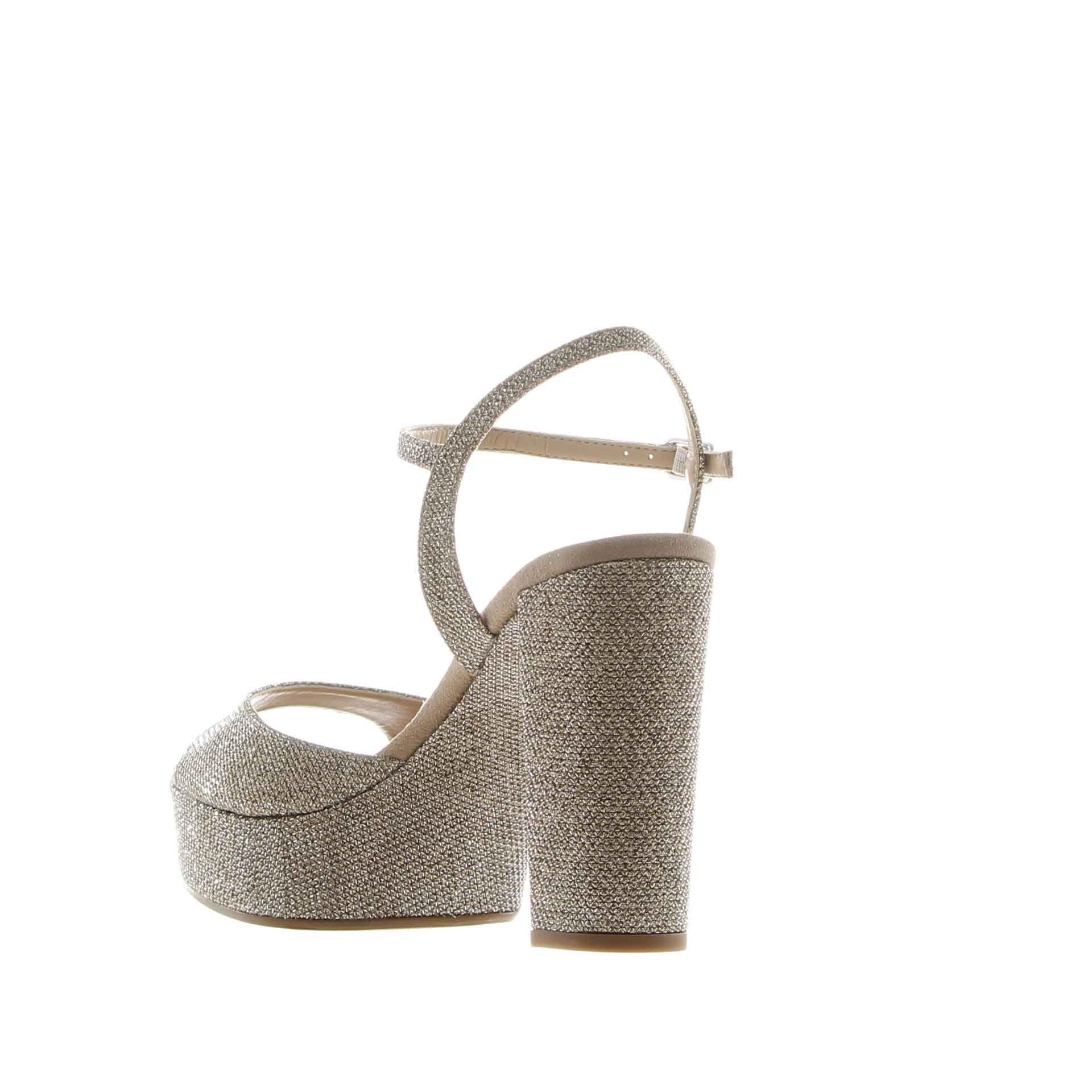 Unisa sandalo platform con cinturino da donna