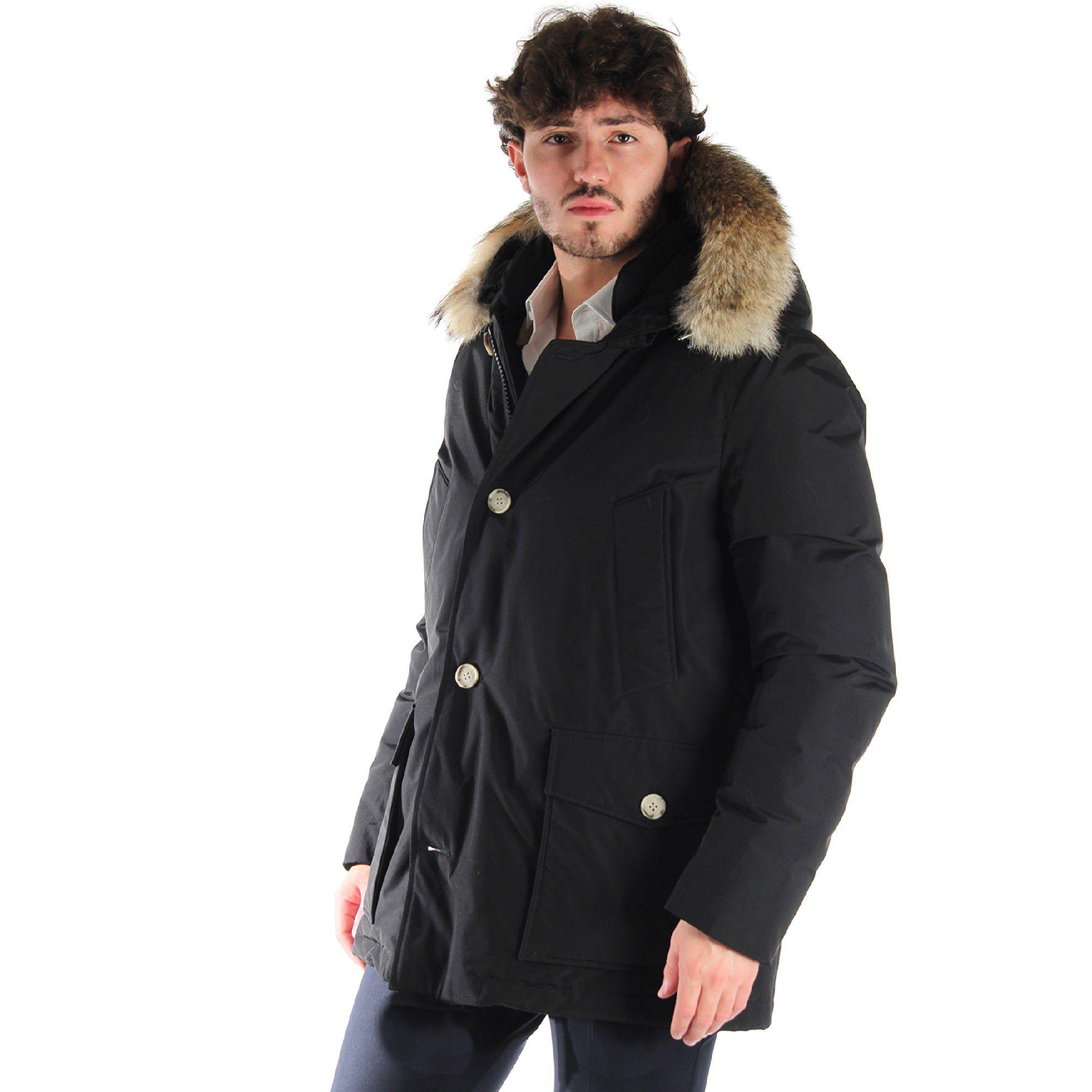 Woolrich arctic anorak  con cappuccio da uomo