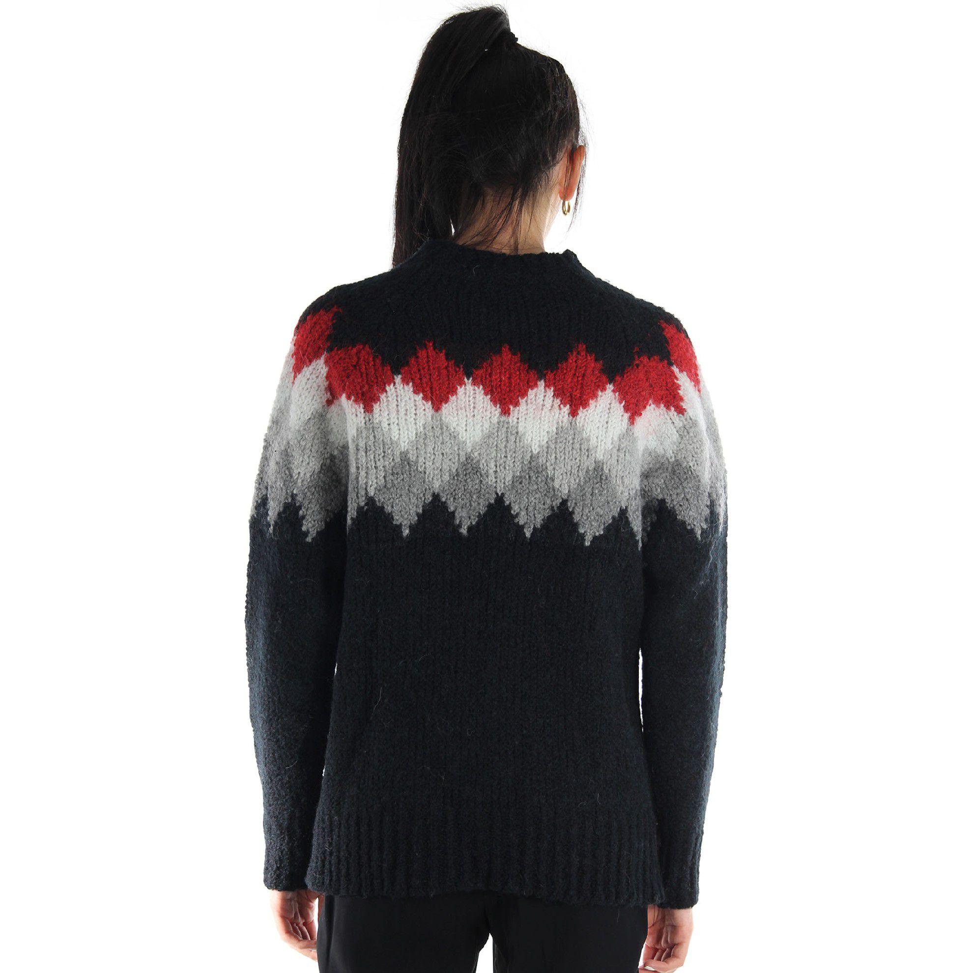 Woolrich pullover in lana alpaca da donna