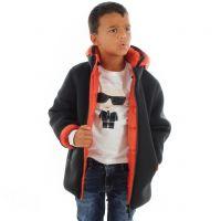 Herno giacca in neoprene e tessuto sintetico da bambino