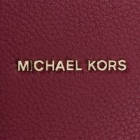 Michael kors borsa a mano mercer media in pelle martellata da donna