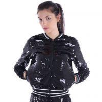 Michael kors giacca sportiva con paillettes da donna