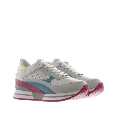 Sneaker rhea in pelle