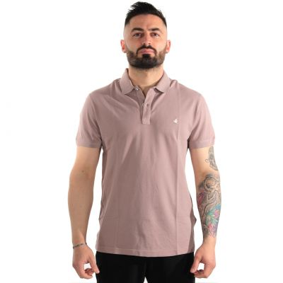Polo in cotone piquet special dyeing