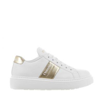 Sneaker mach 3 in pelle