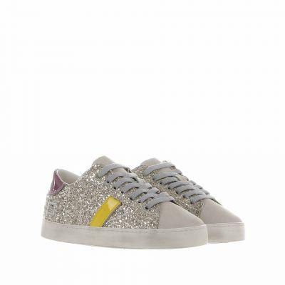 Sneaker hill low 2 in glitter