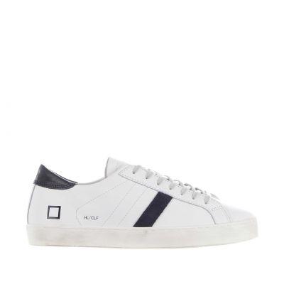 Sneaker hill low calf in pelle