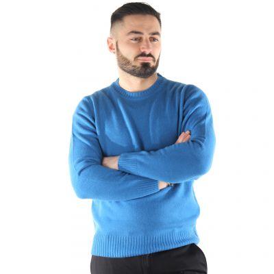 Maglione girocollo in lana merino