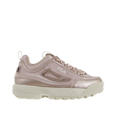 Sneaker disruptor n low in pelle e raso
