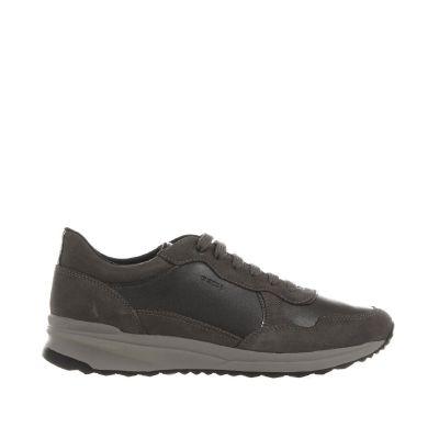 Sneaker airell a in suede e pelle laminata