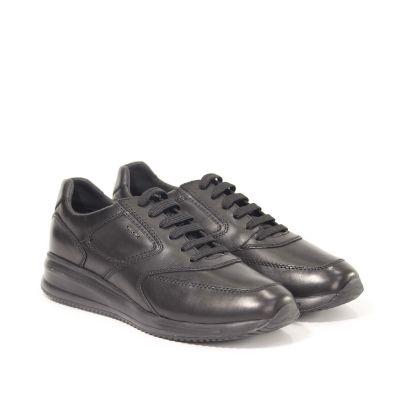 Sneaker dennie a in pelle