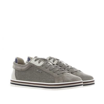 Sneaker eolo a in suede e canvas