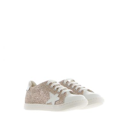 Sneaker in glitter con stella