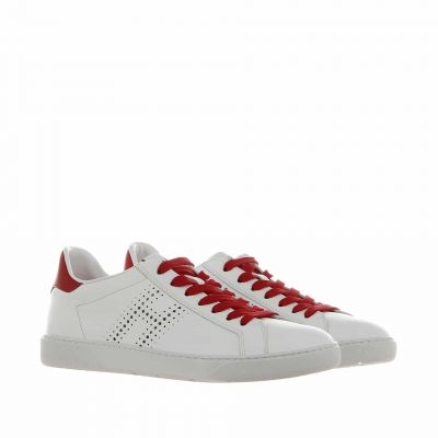 Sneaker h327 in pelle